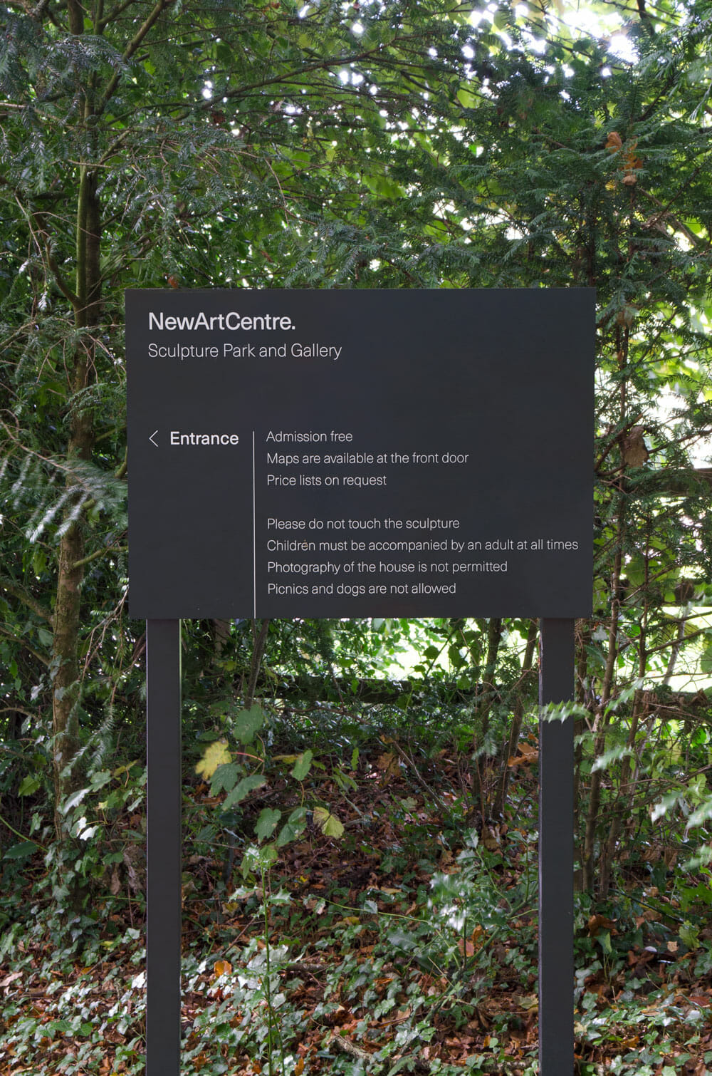 New Art Centre wayfinding