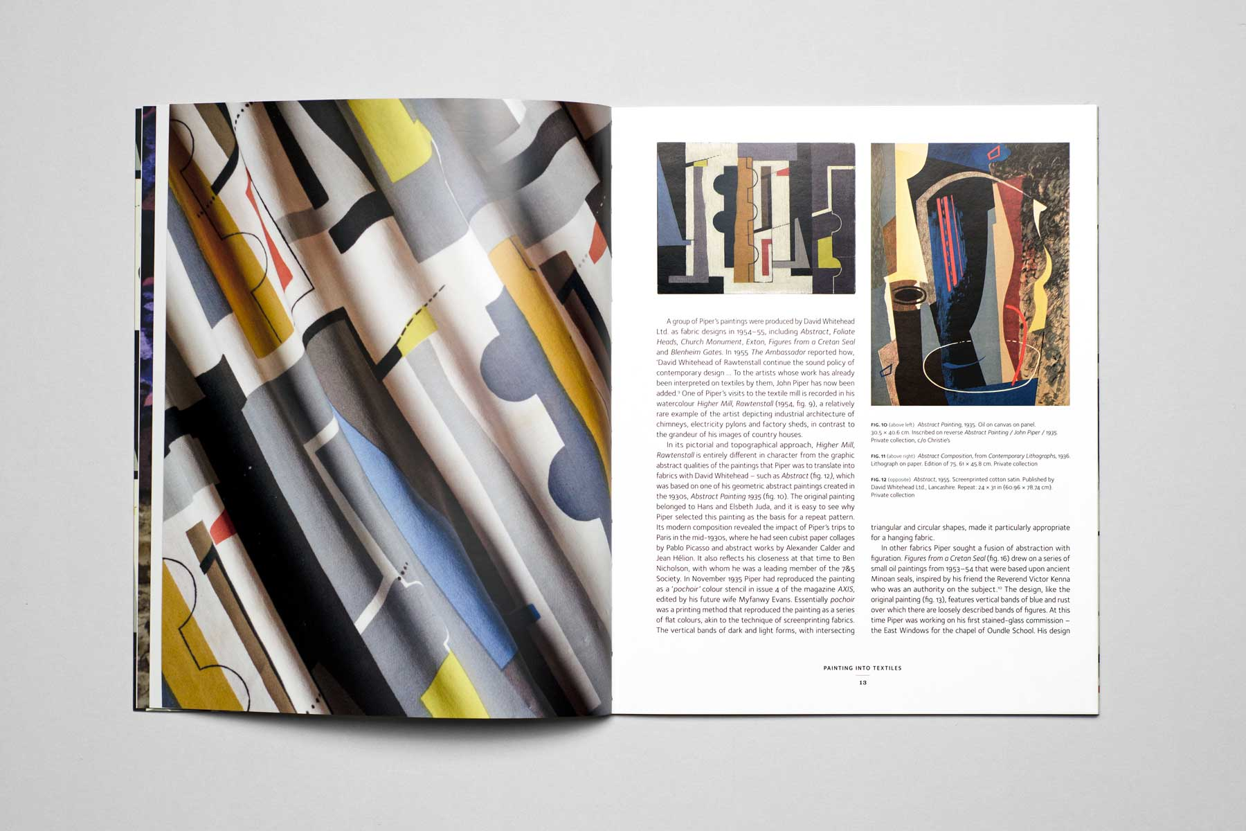John Piper: The Fabric of Modernism
